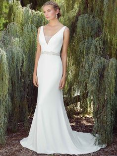 d60a667ace Style 2268 by Casablanca Bridal  Available at http   www.tie-