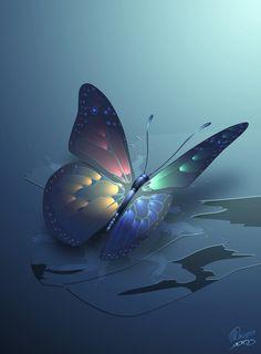 ✯ Winterbliss Butterfly  .. by *Nevs28*✯