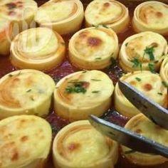 Rondelli de massa de lasanha @ allrecipes.com.br