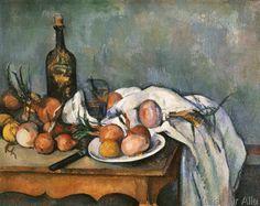Paul Cézanne - Nature morte aux oignons