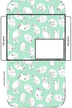 cat envelope,printable envelopes