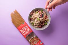 We combine organic buckwheat – the seed that gives such valued taste and nutrition – with organic whole grain brown rice to create a beloved yet gluten-free Japanese-style Soba noodle. With its rich and nutty taste, serve chilled with a dipping sauce, in a hot broth, or in any pasta or stir-fry. #soba #noodles #glutenfree #rice Soba Noodles, Rice Noodles, Whole Grain Brown Rice, Buckwheat, Stir Fry, Fries, Gluten Free, Nutrition, Pasta