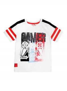 Camiseta niño Gamer Boboli Pepe Jeans, Teen O, Back To School Displays, Boys T Shirts, T Shirts For Women, Gamer T Shirt, Summer Kids, Jersey Shirt, Nightwear