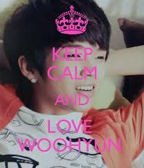 keep calm and love woo hyun ❤❤  if you like keep calm i will post more keep calm  you till me your favorite kpop and i will post it   ❤❤❤❤