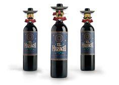El Mariachi red wine series ~ Creative and Art Director: Eugene Kuprienko, Designers: Eugene Kuprienko, Steve Simpson, Anatoly Ivanov, Illustrator: Steve Simpson (@Steve Simpson)