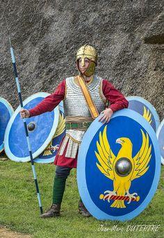 Roman soldier 4rd century AD by Herculiani Iuniores