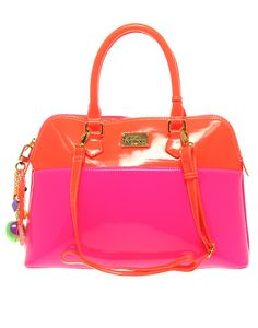 Pink and orange ASOS handbag. Paul s Boutique 5273533149b9f