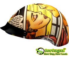 Tortugaz™ Universal DOT Motorcycle Bike Helmet Cover Protector Comics Style
