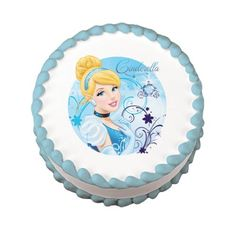 Disney Princess Cinderella Edible Cake Image Topper -- Quickly view this special product, click the image