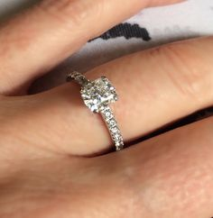 Cushion #cut #diamond #halo #engagement #ring #diamondsinternational #brisbane #diamonds #LoveDI #marryme #wedding
