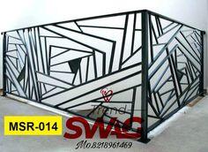 Trend Swag Enterprises - Manufacturer from Parsakheda, Bareilly, India Steel Stair Railing, Steel Stairs, Steel Bed, Railings, Metal Furniture, Diy Furniture, Stainless Steel Railing, Types Of Steel, Grills