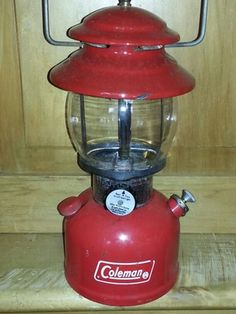 Vintage Coleman Lantern in Camas, WA (sells for $25)