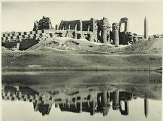 Pictures of old egypt late 19th century : Karnak Temple | Best Photo Site