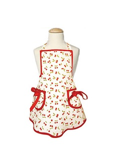 little girl's cherry apron via @Layla Grayce