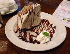 snickers ice cream pie shaped like half dome