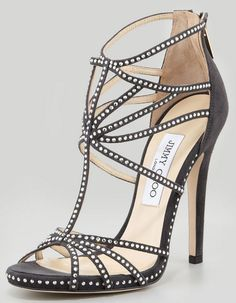 be26e94c95c7d0 Jimmy Choo Vendetta Strappy Crystal Sandals in black suede
