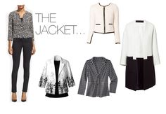 Spring Trends -- Black and White -- Jackets We Love