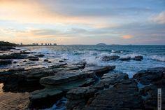 Beach near Mooloolaba, Australia.
