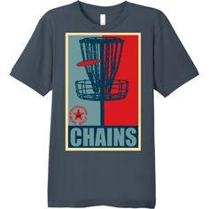 $19.99 Disc Golf Chains Fine Cotton T-Shirt