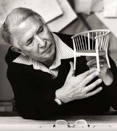Hans Jørgensen Wegner, (April 2, 1914 - January 26, 2007), was a world renowned Danish furniture designer. His high quality and thoughtful work, along with a concerted effort from several of his manufacturers[1], contributed to the international popularity of mid-century Danish design. His style is often described as Organic Functionality, a modernist school with emphasis on functionality.