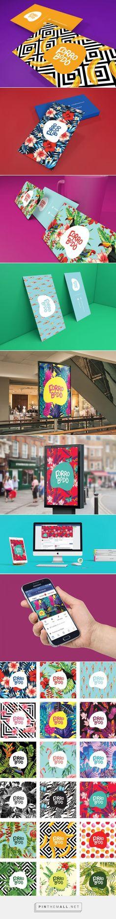 Colorful Branding for Forrobodó - A Brazilian Store by Felipe Bizzi: