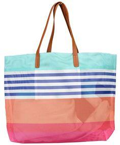 SUNNYLIFE LUXE MESH BEACH BAG, $36, DILLARD'S. Floral Bikini Set, Sunnylife, Sun Hats, Dillards, Gym Bag, Tory Burch, Mesh, Tote Bag, Bags