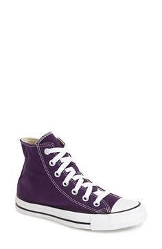 Converse Chuck Taylor® All Star® High Top Sneaker (Women) Purple http://www.95gallery.com/