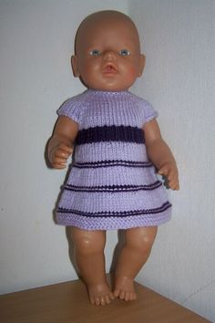 Baby Born, Baby Knitting, Doll Clothes, Women's Fashion, Summer Dresses, Dolls, Tejidos, Knits, Dressing Up