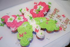 Butterfly Theme Cupcakes