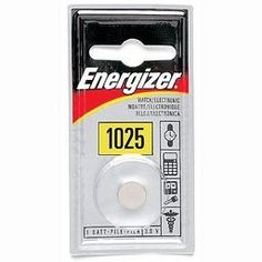 Energizer ECR1025 Lithiuim Coin Cell Battery - ECR1025BP $0.49