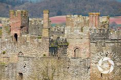 Ludlow Castle seen from Whitcliffe Common, #Ludlow, #Shropshire.