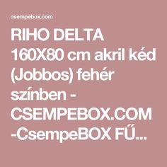 RIHO DELTA 160X80 cm akril kéd (Jobbos) fehér színben - CSEMPEBOX.COM-CsempeBOX FŰRDŐSZOBA-CSEMPE-PADLÓLAP ÁRUHÁZ ! - webáruház, webshop