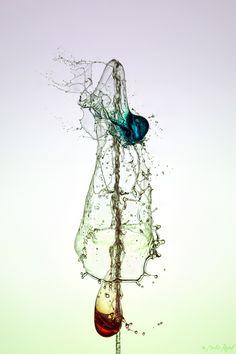 Mesmerizing Liquid Sculptures by Marcus Reugels