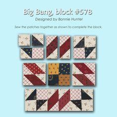 100 Blocks Sampler Sew Along   Block 33