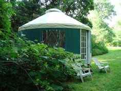 Get back to nature in style with these stunning yurt homes.