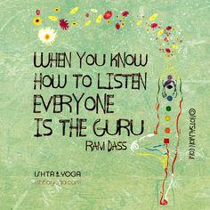 Think happier. Live a life you love. Yoga Quotes, Words Quotes, Wise Words, Me Quotes, Quotable Quotes, Daily Quotes, Sayings, Spiritual Wisdom, Spiritual Awakening