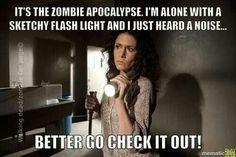 duhhhhhh  #zombie #walkingdead