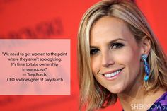 661de2a6ce3b CEO and designer Tory Burch on no more apologies and taking ownership of  your success Education