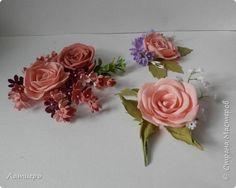 Мастер-класс Флористика искусственная Моделирование конструирование Плоская роза из фоамирана Фоамиран фом фото 24