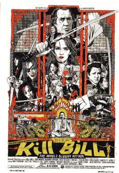 Kill Bill  Mondo Poster