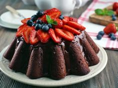 Receta de Pastel de Chocolate sin Harina | Con menos de 5 ingredientes puedes preparar este exquisito pastel de chocolate sin harina. Es ideal para celiacos o para comer un pastel de chocolate bajo en carbohiratos.