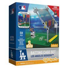 MLB Los Angeles Dodgers Oyo Batting Cage Set - 59pcs