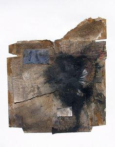 "# 1265 ""Misty"" | 14 x 11 , mixed media on paper. April 2011 | scottbergeyart | Flickr"