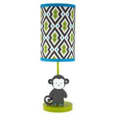 Jonathan Adler Safari Monkey Lamp and Shade - buybuyBaby.com
