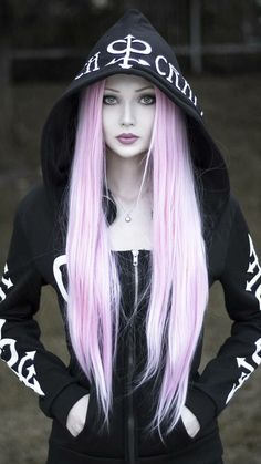 Photography Discover witchy hoodie - Beauty World Gothic Girls Hot Goth Girls Emo Girls Gothic Chic Gothic Mode Goth Beauty Dark Beauty Blonde Goth Blonde Brunette Cute Emo Girls, Hot Goth Girls, Cute Goth Girl, Goth Beauty, Dark Beauty, Blonde Goth, Blonde Brunette, Gothic Mode, Goth Women