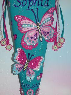 Luxus Schultüte Zuckertüte Prinzessin Pferd Fee Schmetterling für Barbie 110 cm