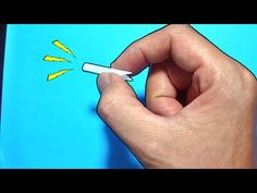 Make an Easy Paper Whistle in Minutes - DIY Crafts - Guidecentral - YouTube