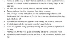 The Marauders and Myrtle part 2 Harry Potter Marauders, Harry Potter Facts, Marauders Era, Harry Potter Quotes, Harry Potter Books, Harry Potter Universal, Harry Potter Fandom, Harry Potter Hogwarts, Jily