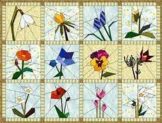 Paper Piecing Patterns Free Printables Flowers - Bing Images