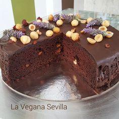 Pastel de chocolate y avellanas sin gluten ni lactosa, receta prestada de…